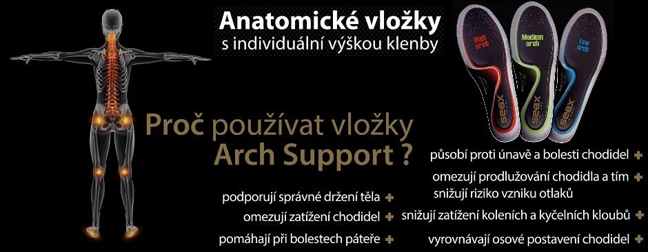 SEAX Arch Support novinka