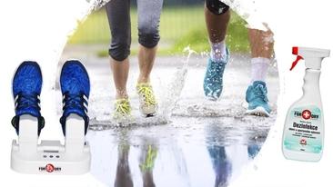 NOVINKA FOR-DRY- vysoušeč na obuv a likvidátor zápachu