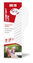 VTR Vložky do bot GULTIO plastové bílé