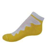 VšeProBoty ponožky SPORT žluté