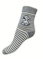 Art. 18 Dětské zimní termo ponožky Pes Knebl Hosiery