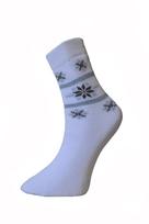Art. 17 Dámské zimní thermo ponožky Norsko Knebl Hosiery
