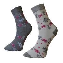 Art. 19 Dámské zimní thermo ponožky Vločka Knebl Hosiery