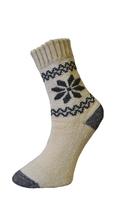 Art. 44 Zimní vlněné Thermo ponožky Vločka Knebl Hosiery