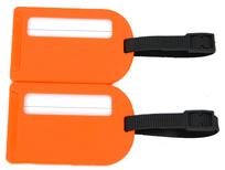 BZ 4066 štítek na kufr orange