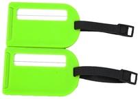 BZ 4066 štítek na kufr green