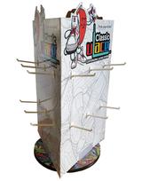 Stojan na tkaničky papírový - zápůjčka