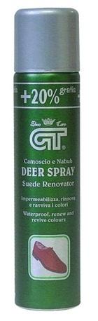 GT Deer Spray- renovátor na velur a nubuk 250 ml