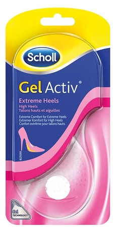 SCHOLL GelActiv Extreme Heels Gelové vložky do bot - extrémně vysoké podpatky