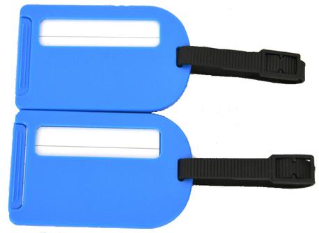 BZ 4066 štítek na kufr blue